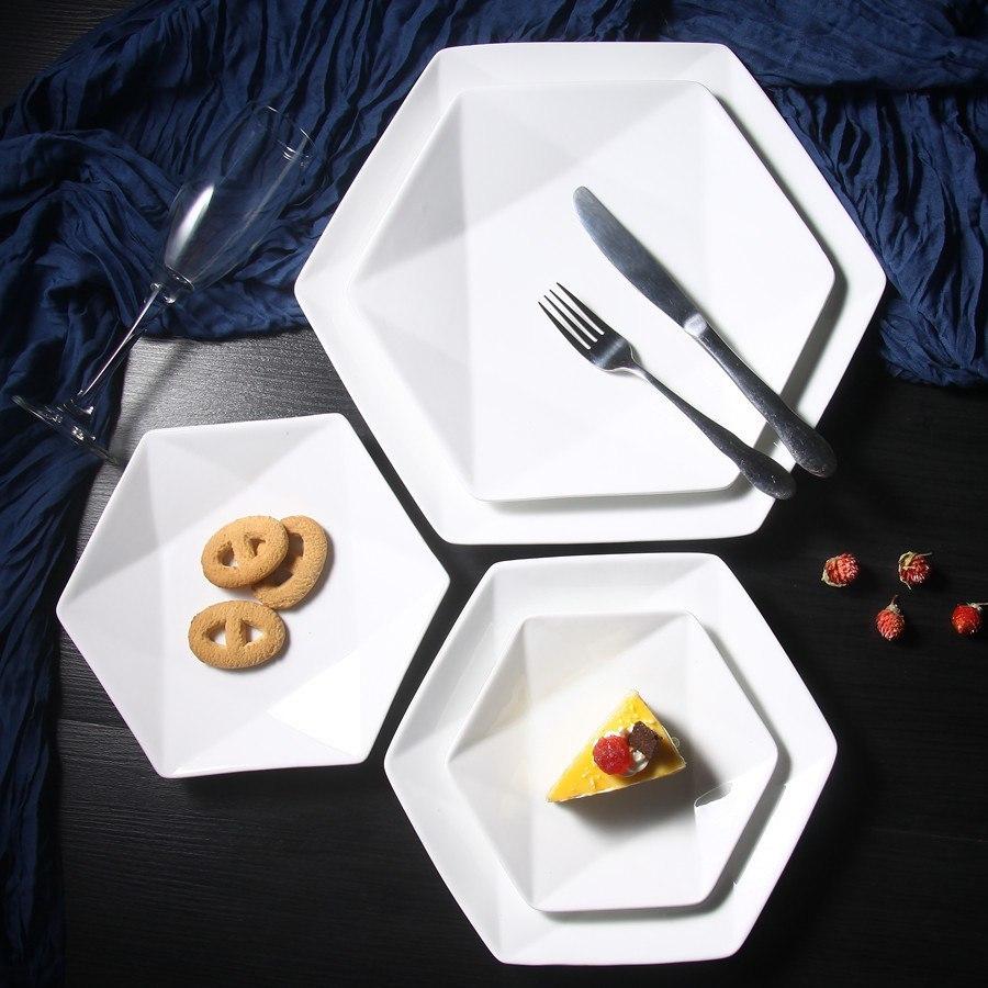 Шестиугольные тарелочки -
