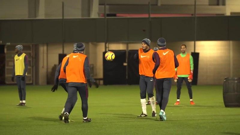 Pep Guardiola (Manchester City) -O Pneu, o Barril e o Balde