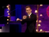 Tom Hiddleston dancing on Chatty Man [HD]
