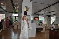 Платье очень удобно трансформировалось из венчального а платье для ресторана))