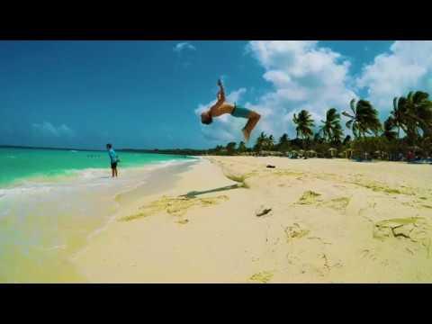 Slow motion acrobatics