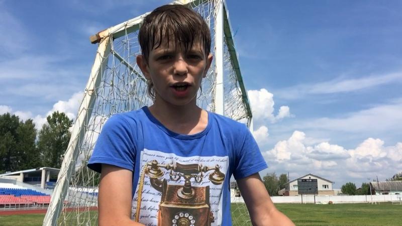 Юные футболисты Скопина
