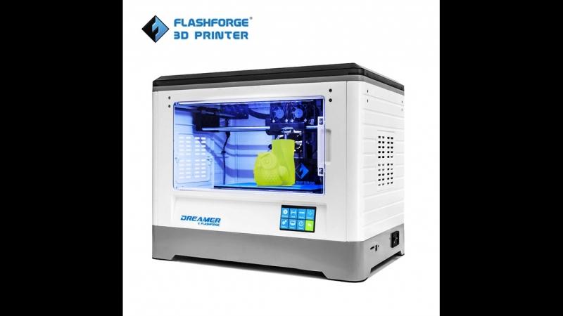 Обзор 3d принтера FlashForge Dreamer www.losprinters.ru (1)