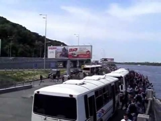 Киев.Националисты и православные прибывают гей-параду