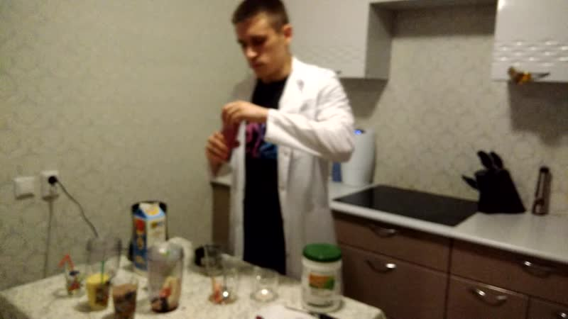 Рецепты смузи с ICook, опыт XS с молоком и кефиром и проверка Универсального отбеливателя SA8