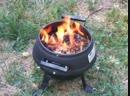 Как горят пеллеты