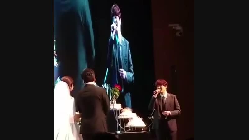 Wedding singer Kyu (1) 💒.mp4
