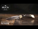 Buck Knives Know Our Product - 112 Auto Knife