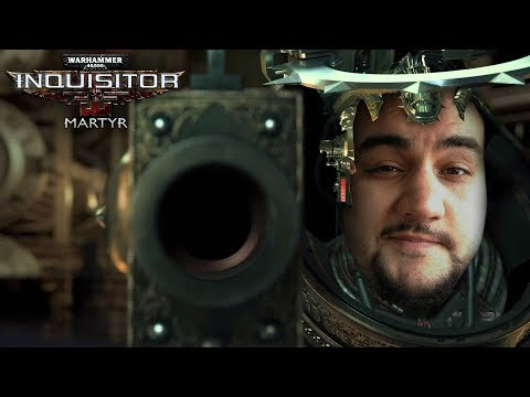 [18] Шон играет в WH40k Inquisitor: Martyr - новый чар, без VPN (PC, 2018)