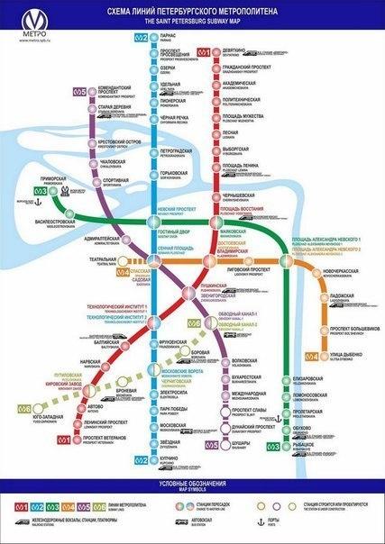 схема строительства метро в