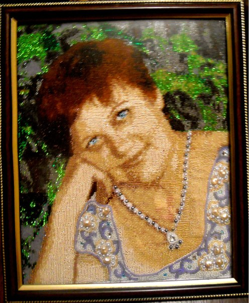 Портреты бисером