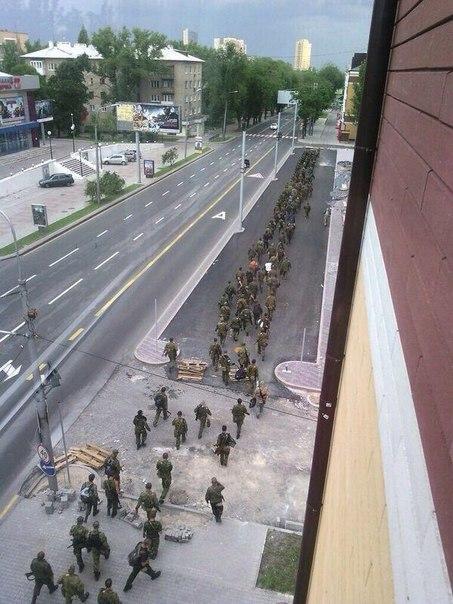 Что творится в Донецке (Фото)