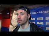 Илья Ковальчук после серии СКА - ЦСКА (4-0)  11.03.14.