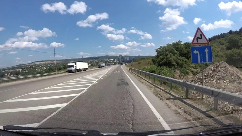Дюрсо - Крымск 65 км Timelapse / 1.08.2018
