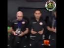Тунис футболшылары матчтың алдында дұға етуде!.mp4