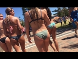 Super gorgeous teens in bikini
