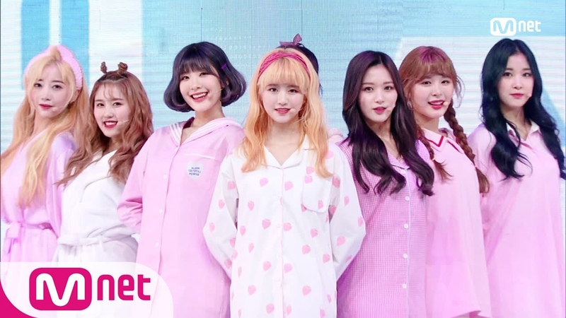 [NATURE - Dream About U] KPOP TV Show | M COUNTDOWN 190117 EP.602