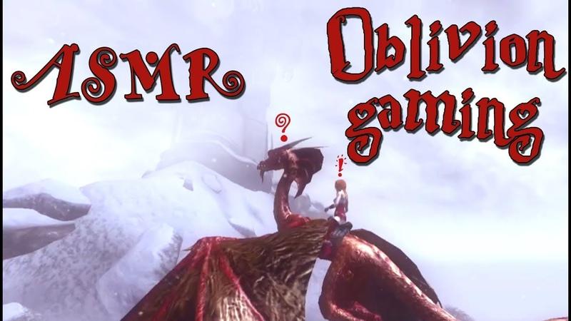 🎧ASMR gaming Oblivion 🐉АСМР гейминг Обливион❄️тайна горной вершины🗻