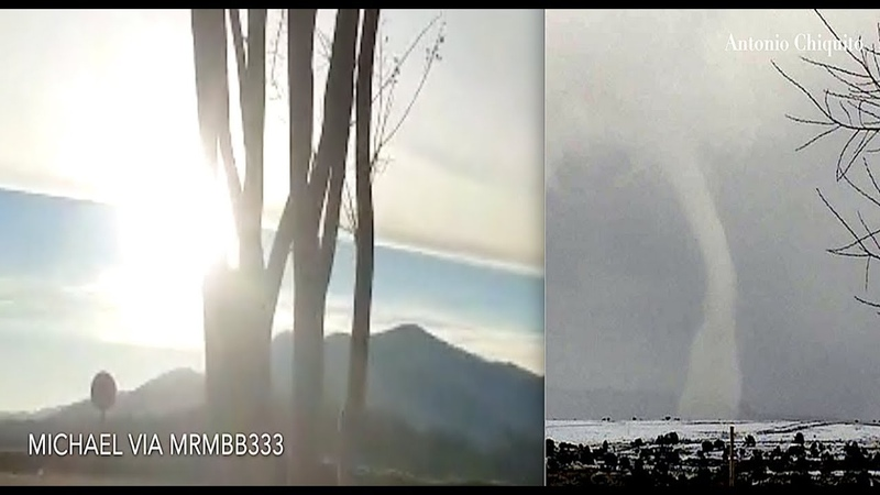 Earth's skies once AGAIN spotted in RARE form! - Snownado