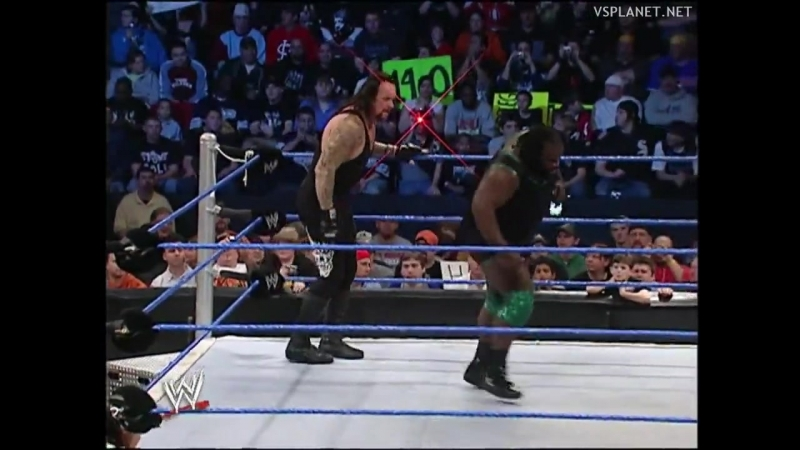 The Undertaker vs Mark Henry Smackdown 07.04.2006