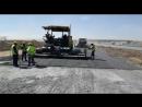 MaiN inşaat Finişer ile alt temel ve plent miks serme sıkıştırma imalatı