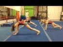 Тренировки гимнасток