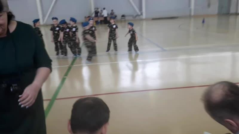 военно - патриотическая игра Зарничка