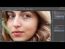 Portrait skin retouching. Retouching Aneri
