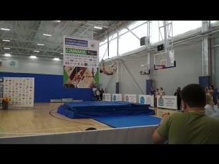 Отборочный турнир по воздушной атлетике в Самаре. Рита Погребняк, 2 меÑ