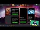 [Stewen Games] МОЙ ПЕРВЫЙ ВЗГЛЯД НА ГАМБИТА (CRYSTAL OPENING) || MARVEL БИТВА ЧЕМПИОНОВ