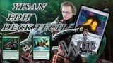 Commander Дектех - Исан, Бродячий Бард Magic The Gathering edh decktech Yisan, the Wanderer Bard