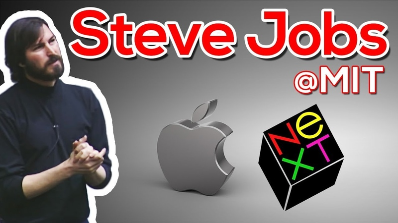 Steve Jobs President CEO NeXT Computer Corp and Apple MIT Sloan Distinguished Speaker Series