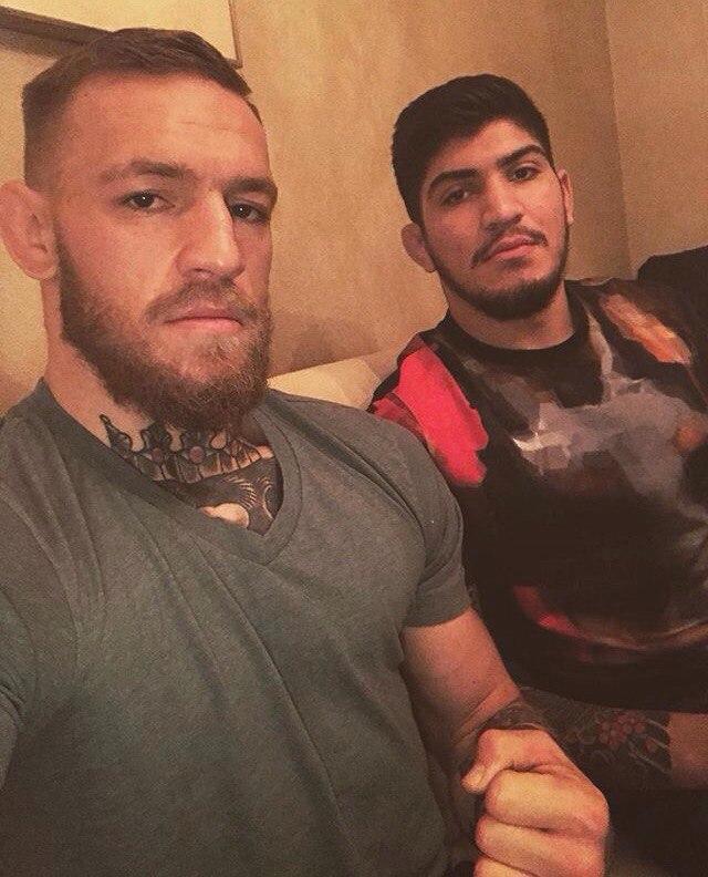 Конора МакГрегора и Дилон Дэнис в придверии UFC 205