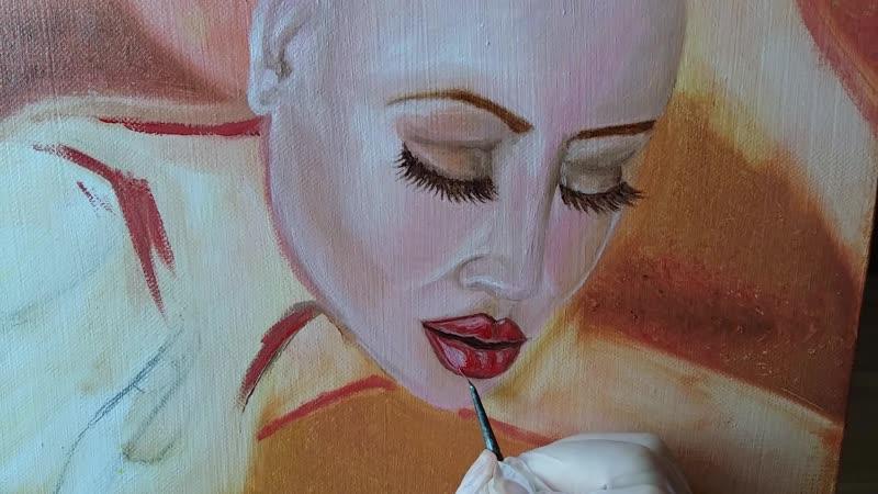 Рисуем губы