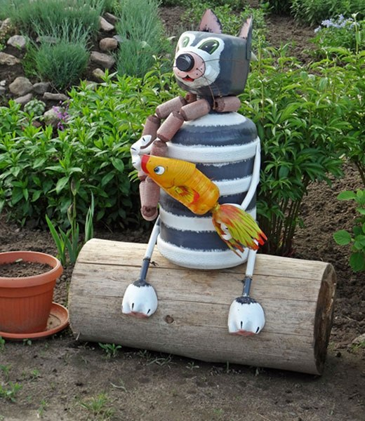 Сделать поделки своими руками для сада и огорода