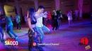 Boris Zayarin and Kseniya Serechenko Cha-cha-cha Dancing in Lendvorets at The Third Front, 03.08.18