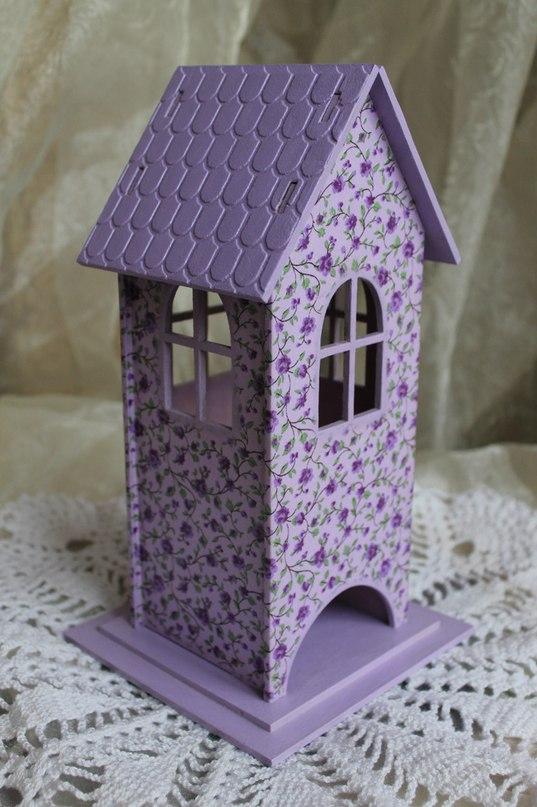 Фото чайные домики из картона своими руками