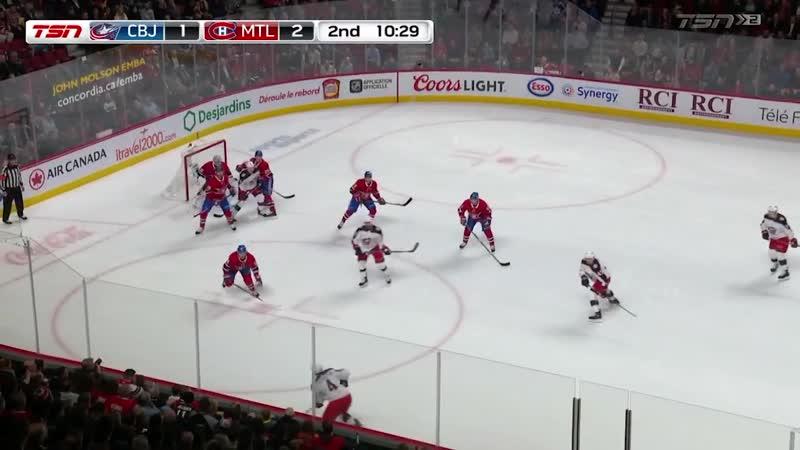 Columbus Blue Jackets vs Montreal Canadiens   Feb.19, 2019   Game Highlights   NHL 201819   Обзор