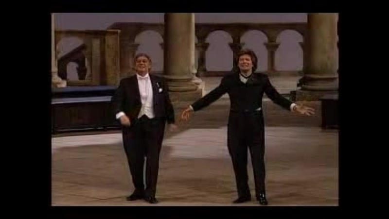 Placido Domingo and Samuel Ramey - Faust Prolog