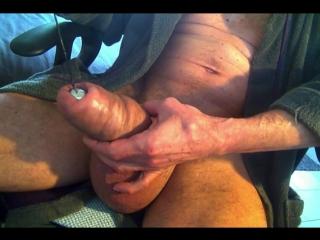 #гейхран. вытягивает шар из силиконового хуя xtube bivicx гей порно бодимод модификации тела член накачен физраствором силиконом