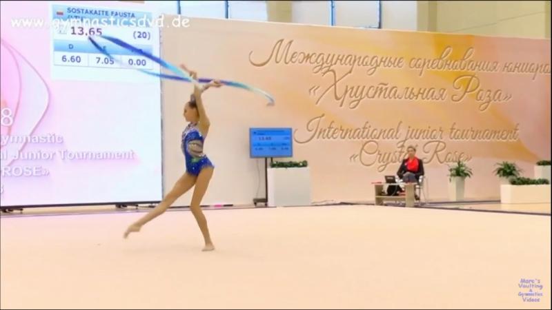 Дарья Трубникова — Лента(командное многоборье)15.000