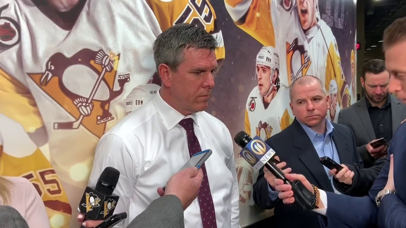 "Penguins Coach Mike Sullivan says the pens are not thinking big picture"" PHN"