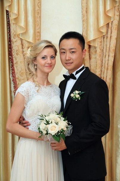 白人美女嫁入中国刘家