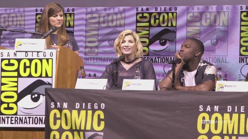 Meet the Thirteenth Doctor San Diego Comic Con 2018 BBC America