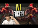 Faker Challenges His Viewers for a 1v1! - Faker's Stream Highlights (Translated)