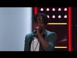 D.R. King спел хит Believer на слепых прослушиваниях шоу Голос