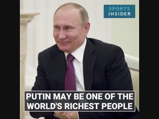 Putin could secretly be one of the richest men in the world