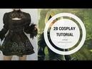 2B | Nier Automata Cosplay Tutorial 3/3 | Cosiendo el vestido