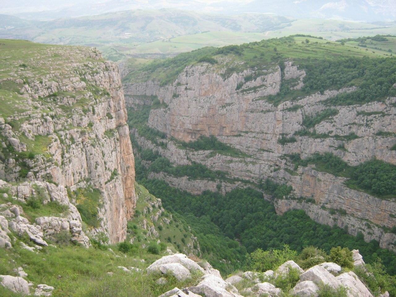 Скалы города Шуши (Карабах)