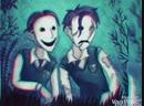 Tim Tom spooky scary skeletons